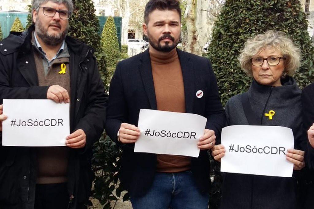 La Audiencia Nacional no ve terrorismo ni rebelión en la actuación de la miembro de un CDR detenida