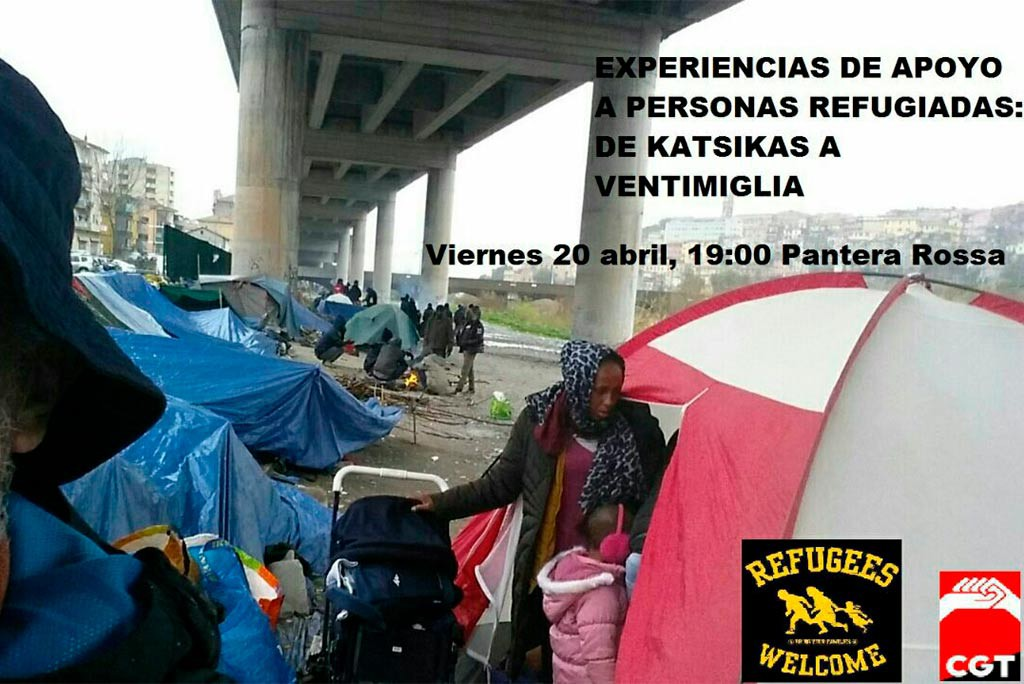 charla voluntario refugiados