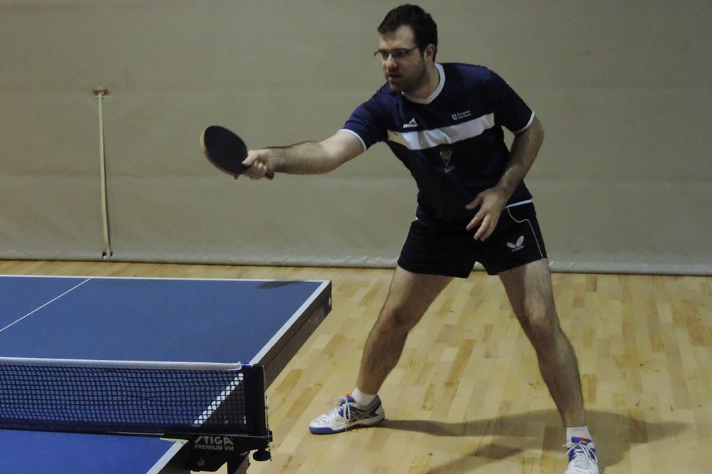 El CN Helios se juega la última jornada de la liga estatal de tenis de mesa