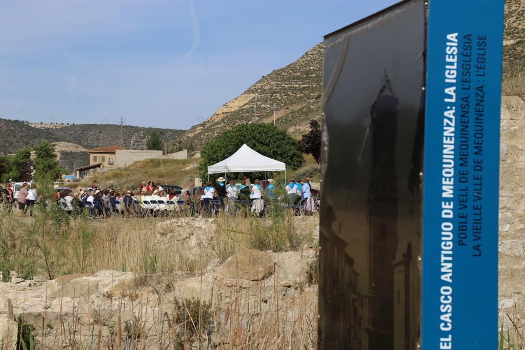 El 'Poble Vell' acogerá los actos de celebración del Diya d'Aragón y Día del Libro en Mequinensa