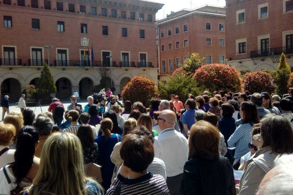 GANAR Teruel condena la sentencia del juicio de 'La Manada'
