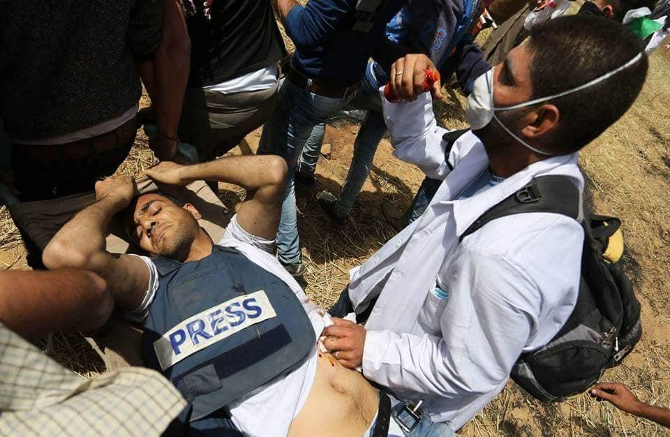 Francotiradores israelís matan a diez personas en Gaza