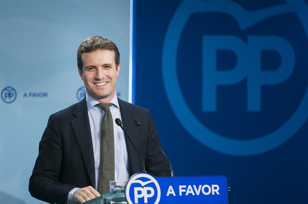 Pablo Casado se convierte en el nuevo presidente del Partido Popular