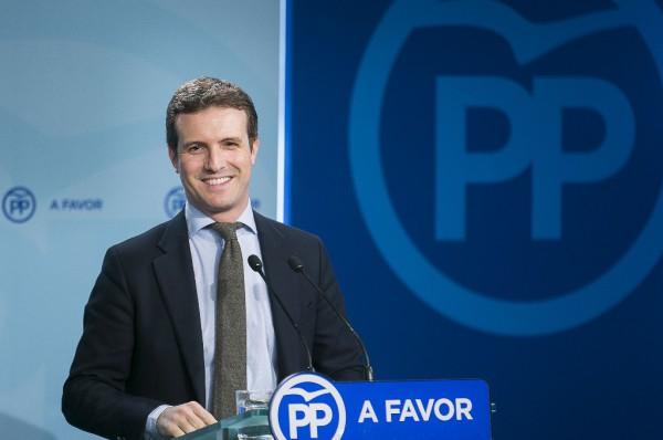 Pablo Casado. Foto: PP