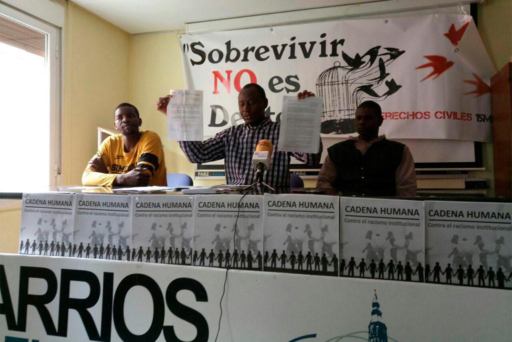 Se organiza una cadena humana en Zaragoza contra el racismo institucional para el 14 de abril