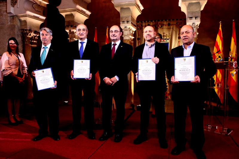 Premio Aragón 2018 para CEOE, Cepyme, UGT y CCOO