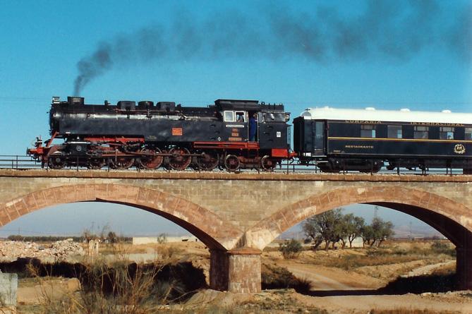 El tren histórico de los Amigos del Ferrocarril de Zaragoza llegará a Carinyena el próximo 15 de abril