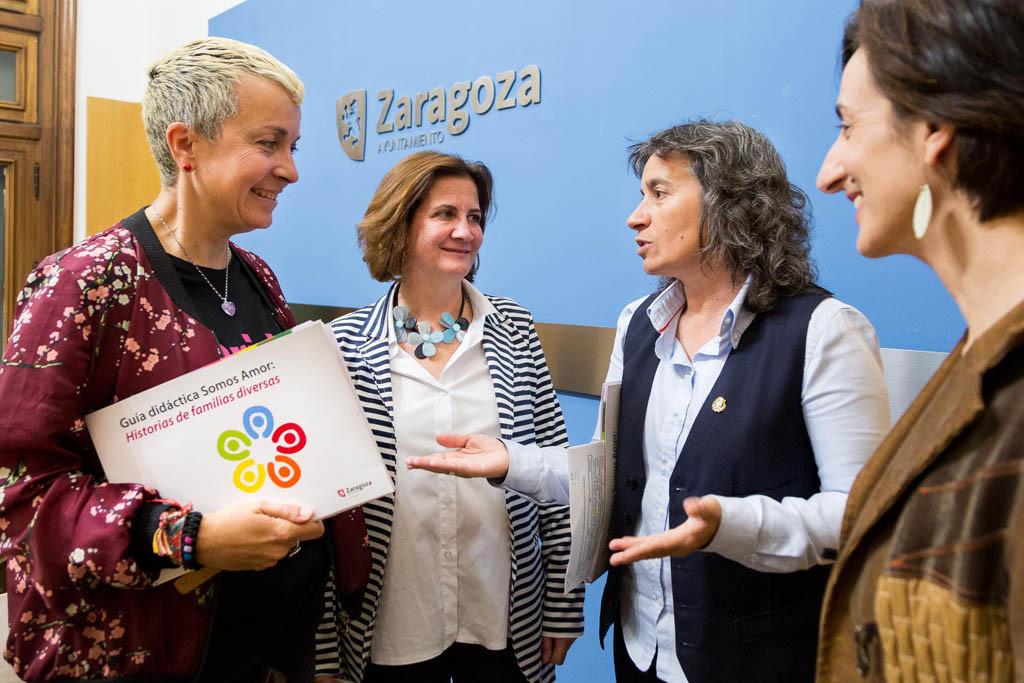 El Ayuntamiento de Zaragoza edita una guía didáctica para concienciar sobre la diversidad familiar en los centros educativos