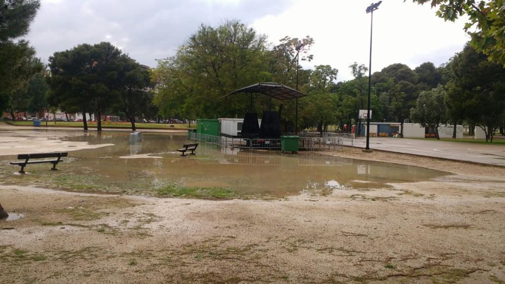 La 27Mayada se suspende por la lluvia pero la FABZ celebrará un acto reivindicativo en la AV Arrabal