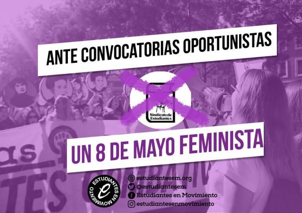 educación feminista 8 de mayo