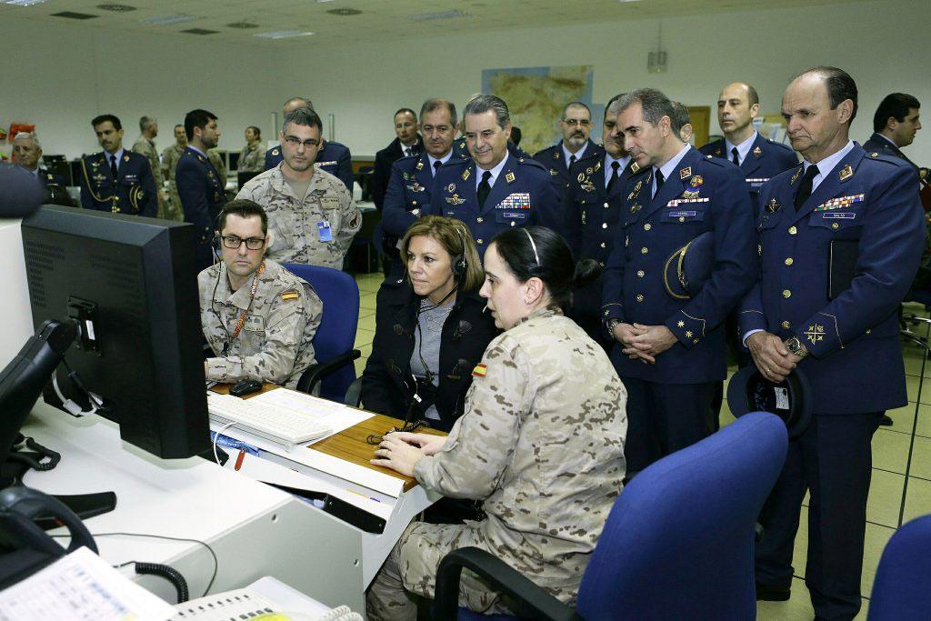 La Base Aérea de Zaragoza vuelve a ser americana
