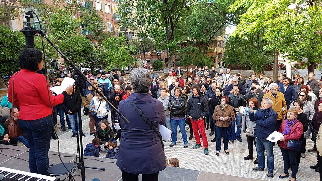 El Barrio de San José mantiene viva la memoria de Desideria Giménez Moner, asesinada por el fascismo en 1936