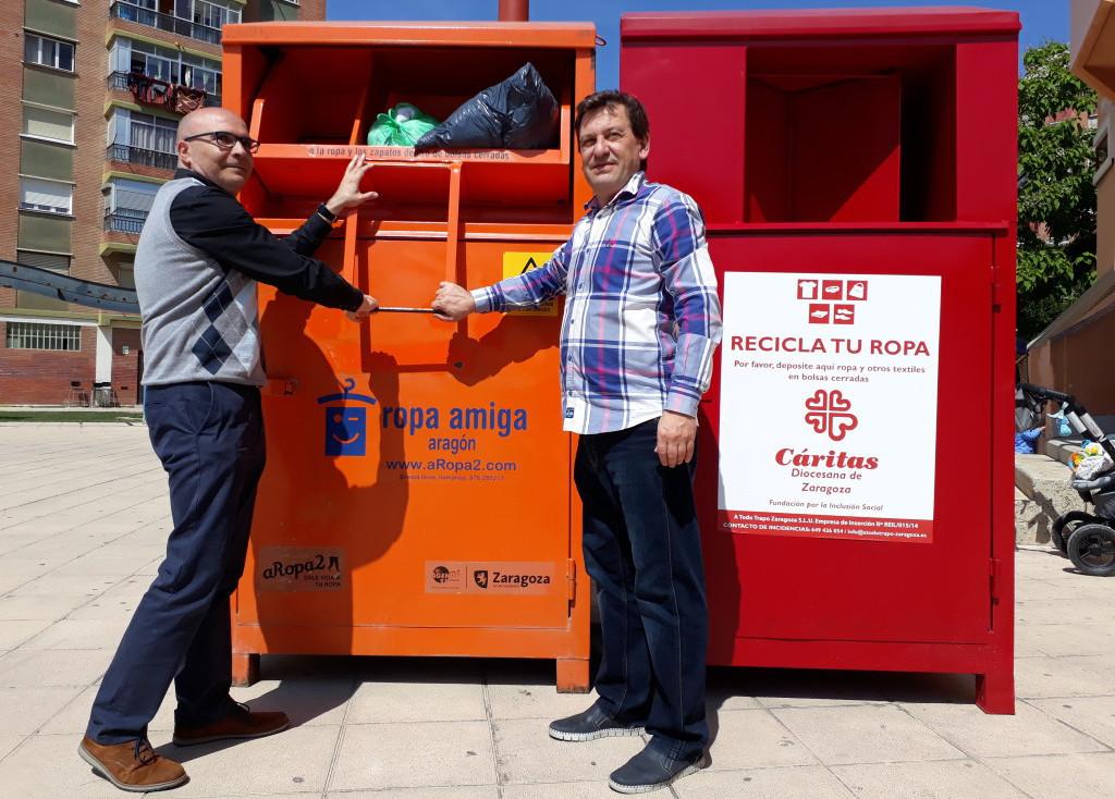 ARopa2 y A Todo Trapo, una apuesta por el reciclaje que inserta personas