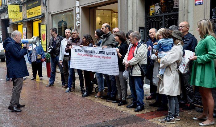 La Asociación de Periodistas de Aragón convoca concentraciones en favor de la libertad de prensa en las tres capitales aragonesas