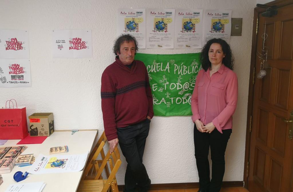 """CGT Uesca organiza una jornada educativa que tiene como objetivo """"disfrutar la escuela"""""""