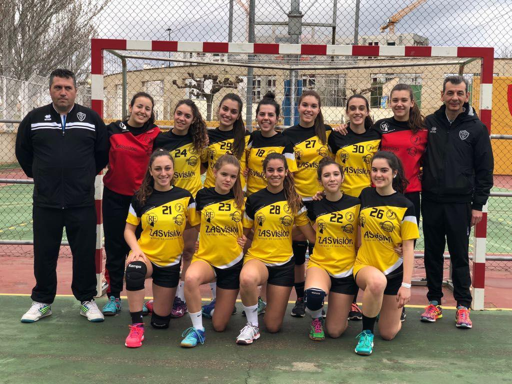 La élite del balonmano cadete femenino se da cita en Zaragoza