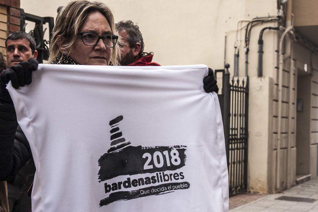 Bardenas Libres 2018 se moviliza contra las nuevas maniobras con fuego real