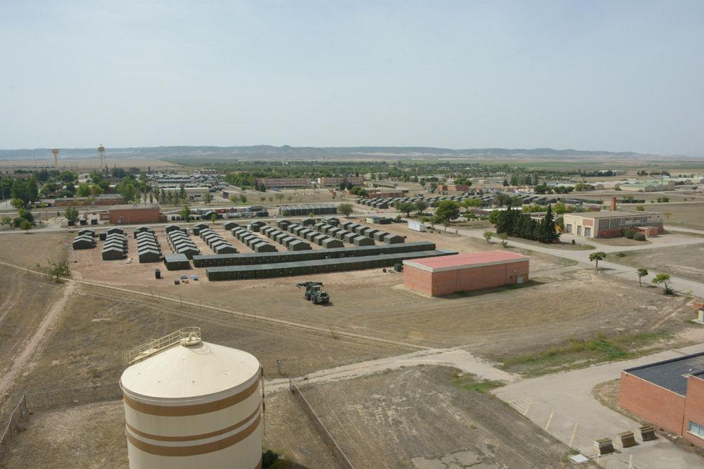 IU reclama que Margarita Robles detalle en el Congreso por qué se prolonga la autorización para que un centenar de militares de EE.UU usen la Base Aérea de Zaragoza