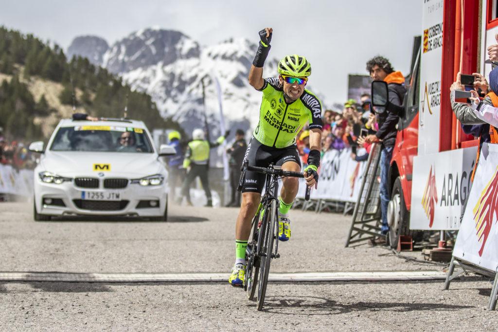Jaime Rosón ganador de la Vuelta Aragón 2018