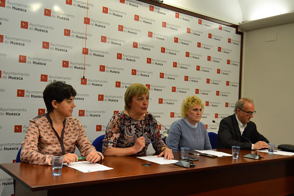 Carmen García asume la portavocía de Cambiar en el Ayuntamiento de Uesca