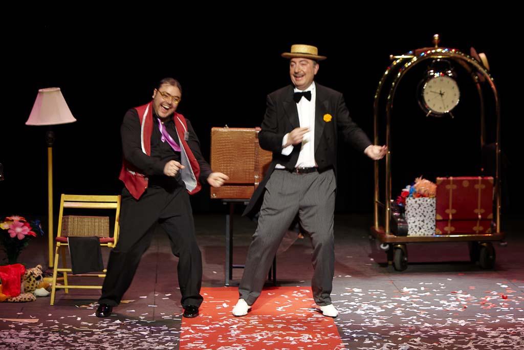 Paulino Gil trae la magia del 'Chequín' de un hotel al Teatro del Mercado
