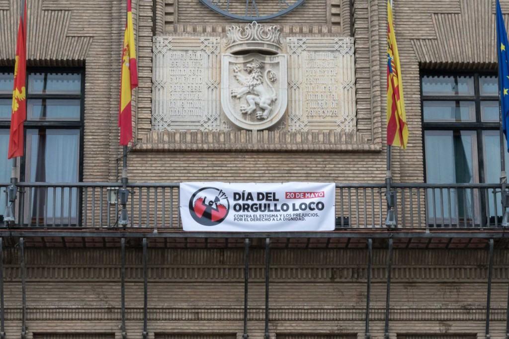 El Ayuntamiento de Zaragoza se une a las reivindicaciones del Día del Orgullo Loco contra el estigma de las enfermedades mentales