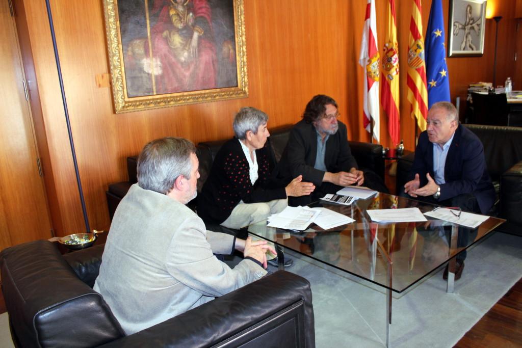 RAPA expone al presidente de la DPH su propuesta para reformar el ICA