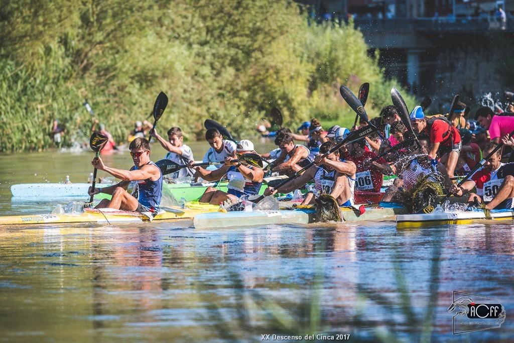 El Descenso Internacional del Cinca en piraguas se incluye de nuevo en el calendario oficial