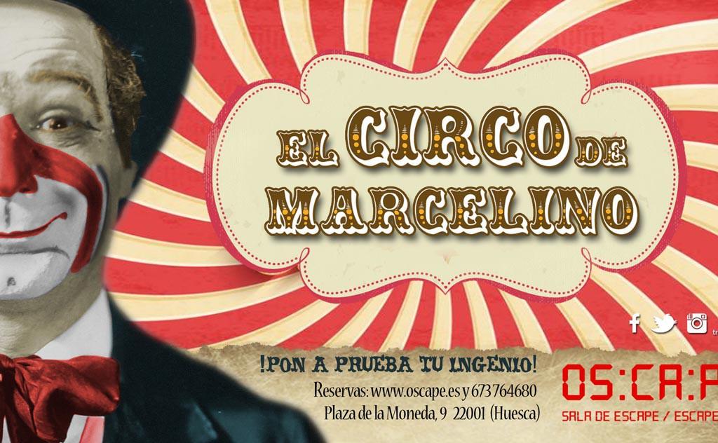 Oscape presentará su nuevo juego de escape sobre el payaso Marcelino