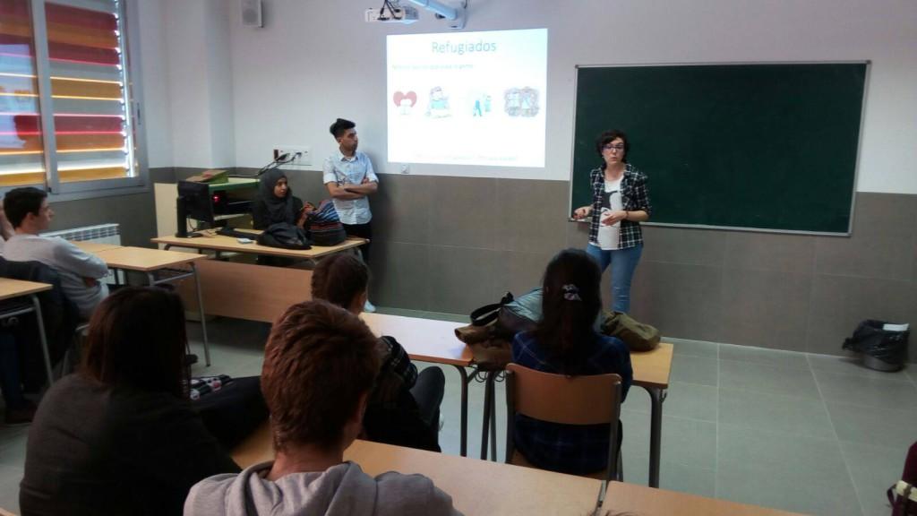 El grupo de Ayuda a Refugiados en Zaragoza organiza unas jornadas de formación para la sensibilización