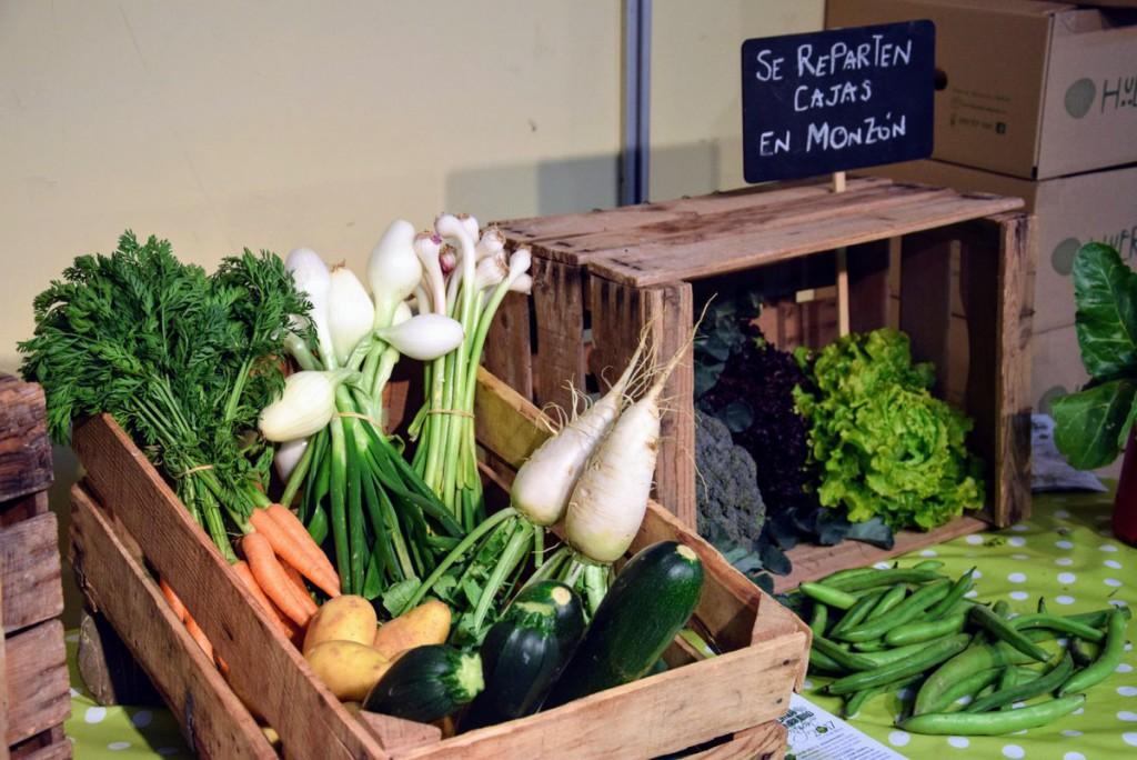 Productos ecológicos y de proximidad en la III Feria de Economía y Sostenibilidad de Monzón
