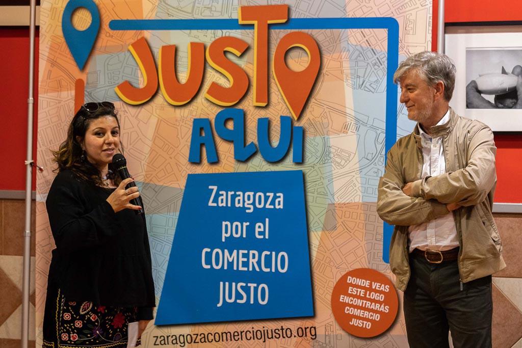 Zaragoza celebra su primer año como ciudad por el comercio justo