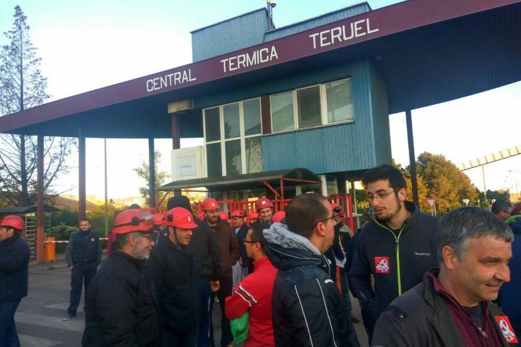 """CNT y la Coordinadora de Izquierda Unida de Teruel apoyan las movilizaciones """"contra la represión sindical"""" en Maessa"""