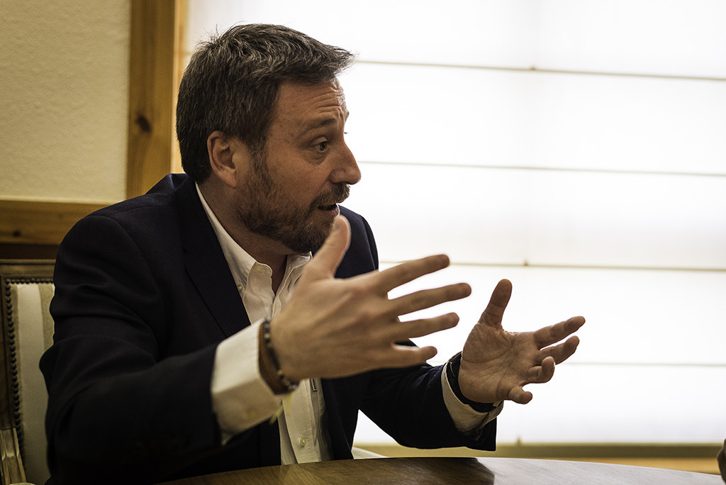"""Soro: """"Vamos a seguir ejerciendo mucha más presión política para impulsar el Corredor Cantábrico Mediterráneo"""""""