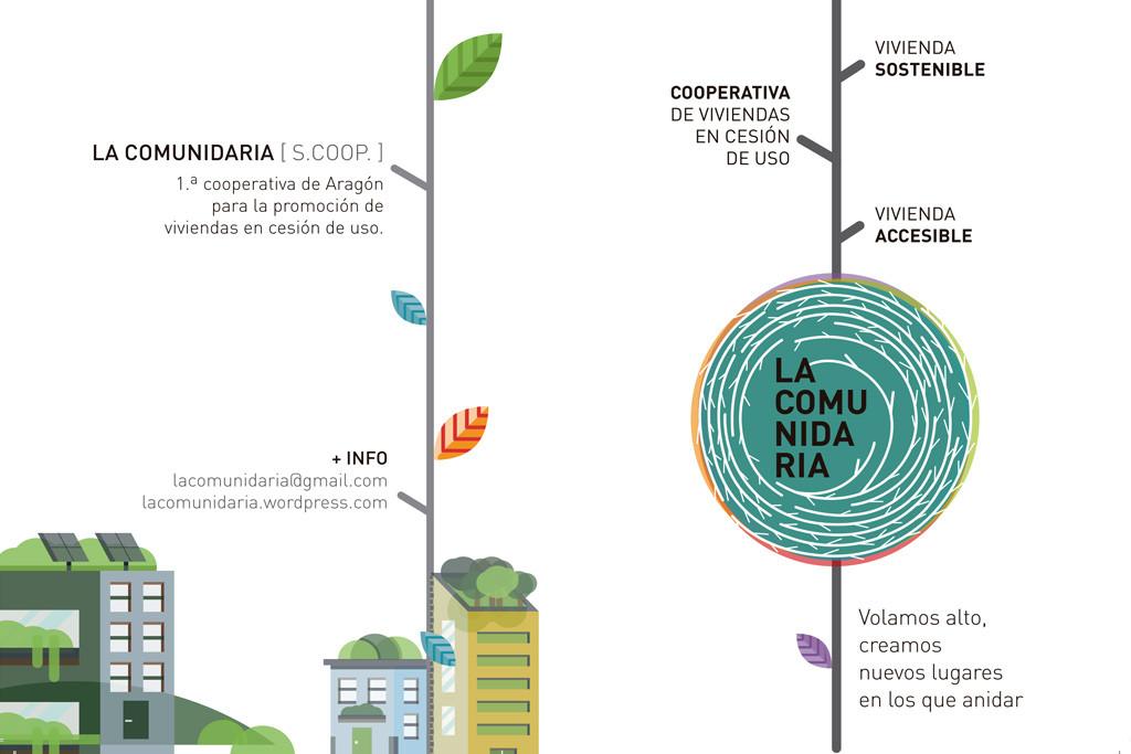 La Comunidaria, primera cooperativa de Aragón para la promoción de viviendas en cesión de uso