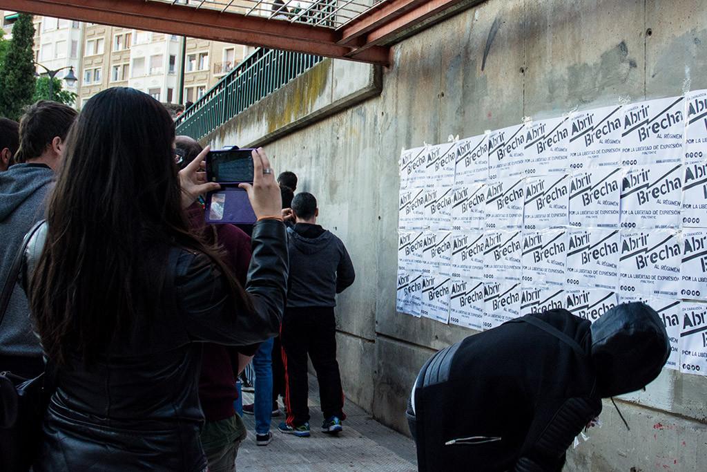 La juventud rebelde «Abrimos Brecha» en Zaragoza