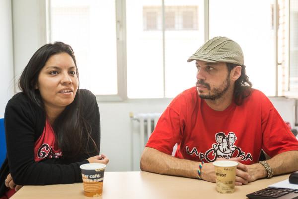 Tatiana y Nacho Levy también de La Garganta