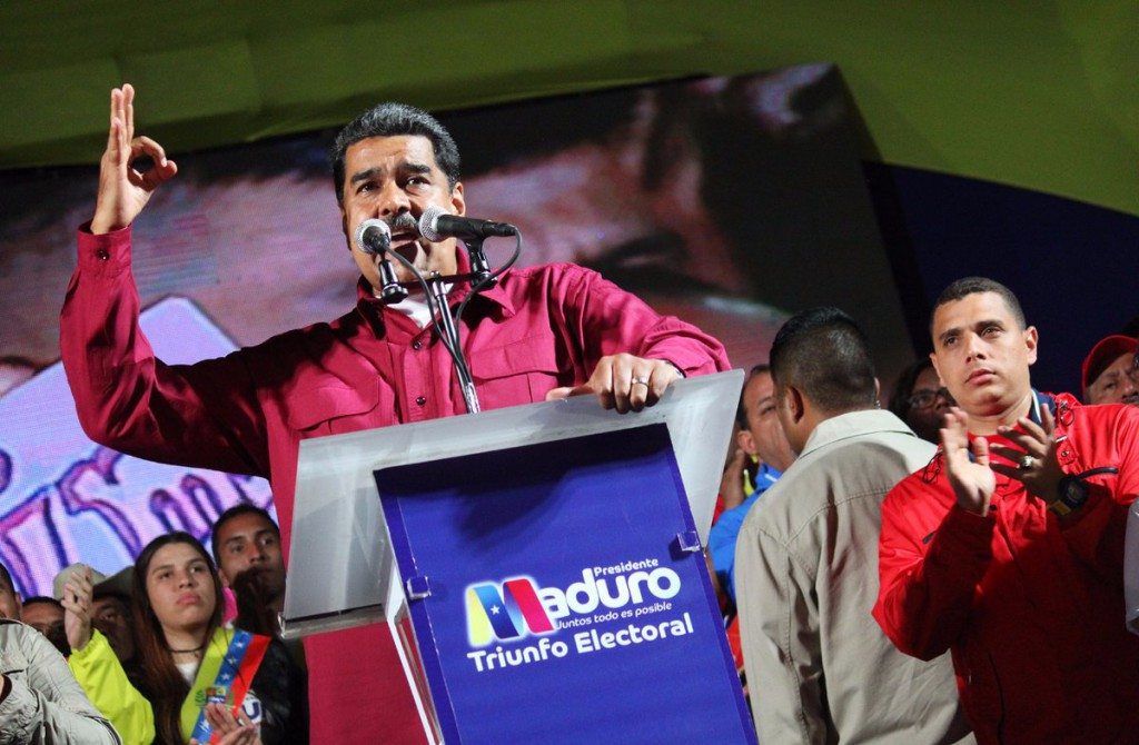 Maduro gana las elecciones presidenciales en Venezuela con casi 6 millones de votos