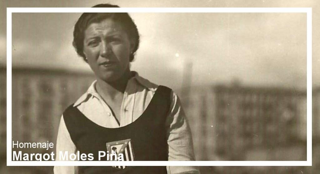 Homenaje a Margot Moles, la mejor deportista del Estado español durante el siglo XX