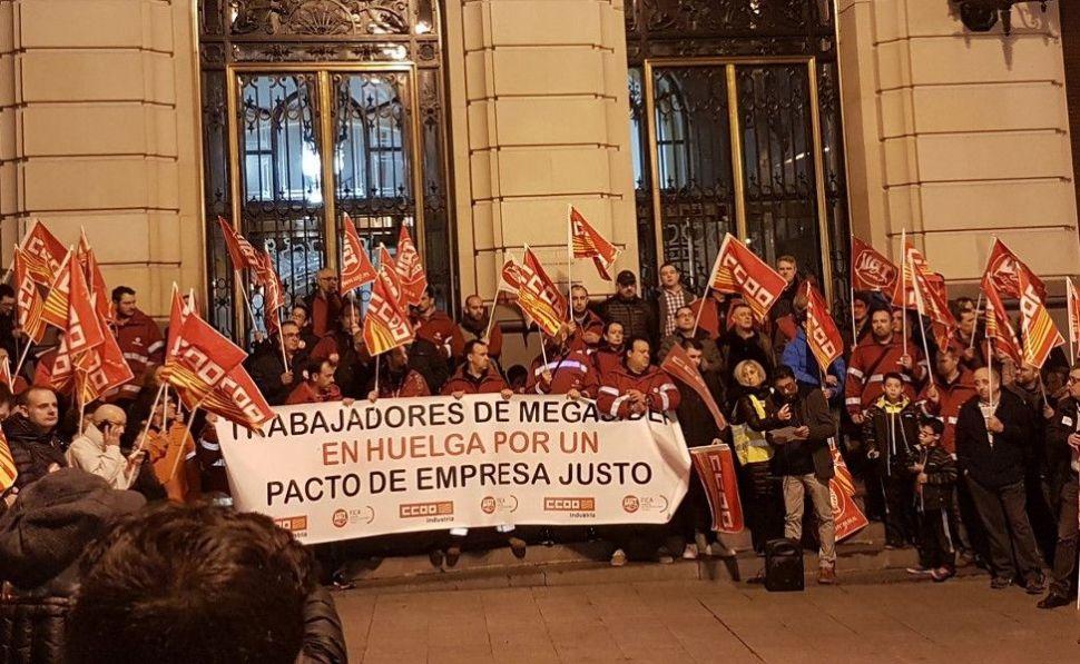 Apoyo unánime a la plantilla de Megasider en el Pleno de Zaragoza