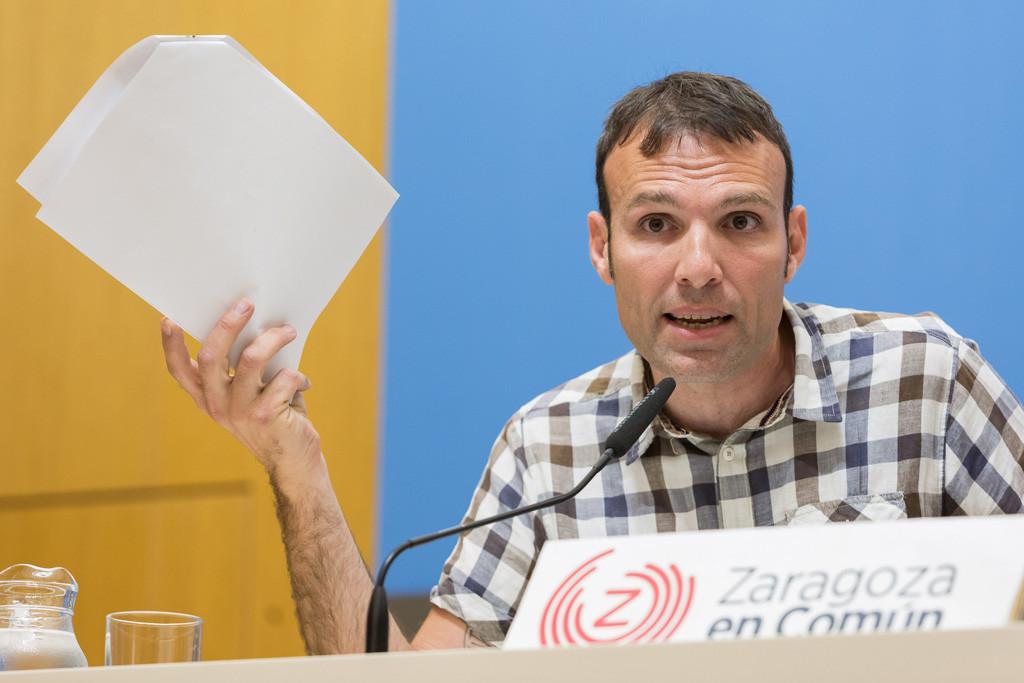 Zaragoza en Común retira el recurso contra la oposición e insta a aislar políticamente al PP