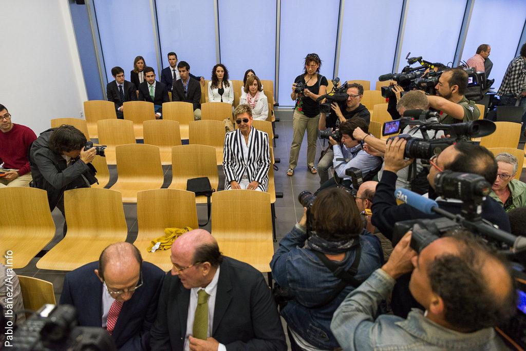 La exalcaldesa de La Muela, María Victoria Pinilla, cumpliría un máximo de 9 años de prisión por 11 delitos