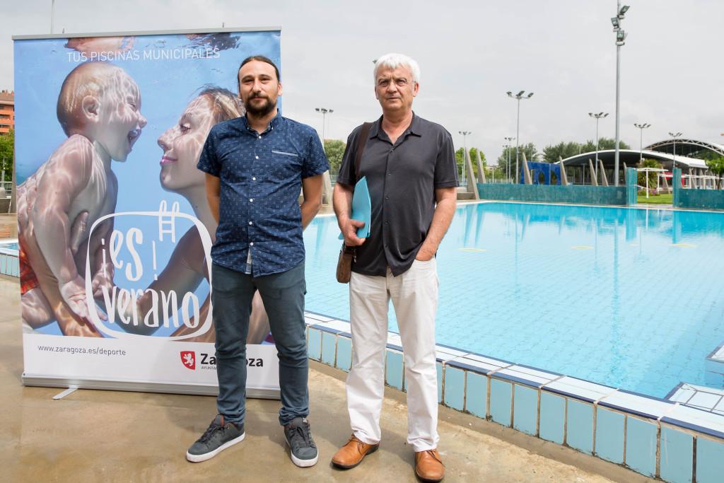 Las piscinas municipales en Zaragoza abren este sábado la temporada de verano