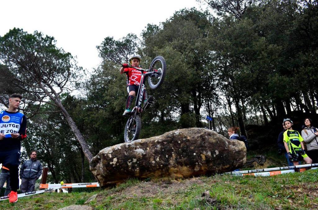 El crono priva a Poldo Sillué de su tercera victoria consecutiva en la Copa Osona de Bike Trial 2018