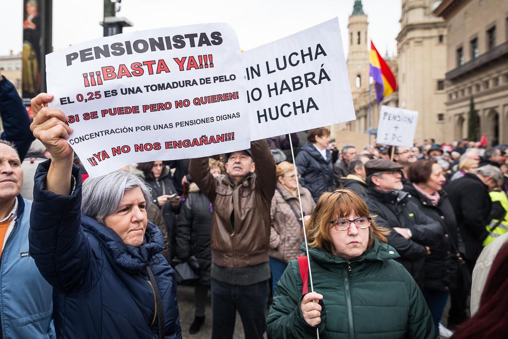 Sólo 14.000 personas en Aragón se beneficiarán de la subida de las pensiones de viudedad