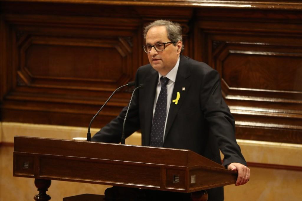 Torra sustituye a los consellers en la cárcel o el exilio para acabar con el 155 y desbloquear el Govern