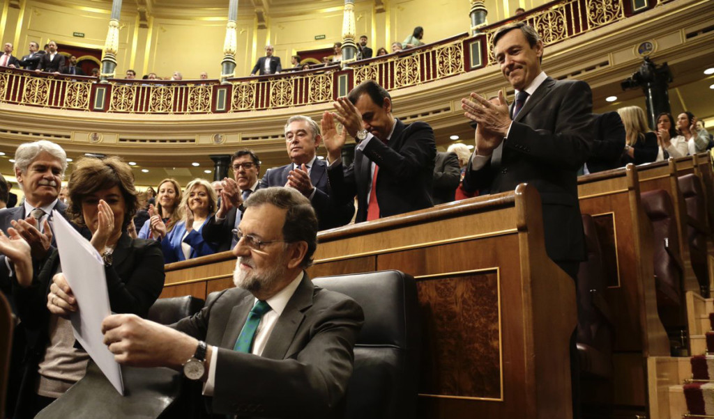 """Sánchez a Rajoy: """"Usted no puede seguir siendo presidente tras la sentencia de la Gürtel"""""""