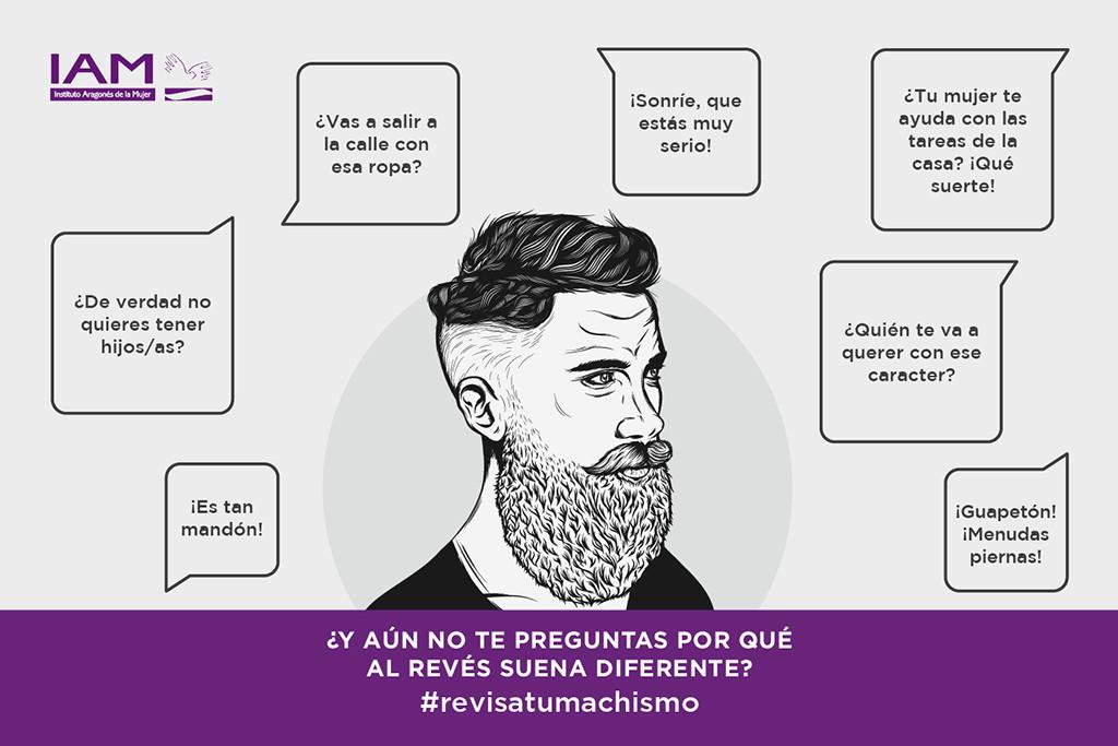 """""""Revisa tu machismo"""", nueva campaña de sensibilización social del IAM que busca implicar a los hombres en la erradicación de la desigualdad"""