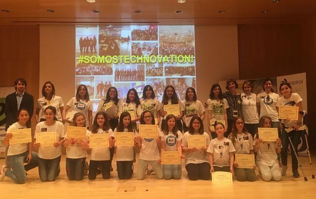 Cuatro equipos de jóvenes científicas aragonesas pasan a la semifinal europea del Technovation Challenge