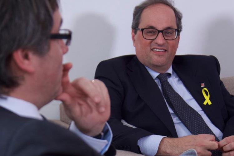 Puigdemont designa a Quim Torra como candidato a president de la Generalitat